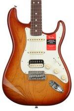 Fender American Professional HSS Shawbucker Stratocaster - Sienna Sunburst with Rosewood Fingerboard