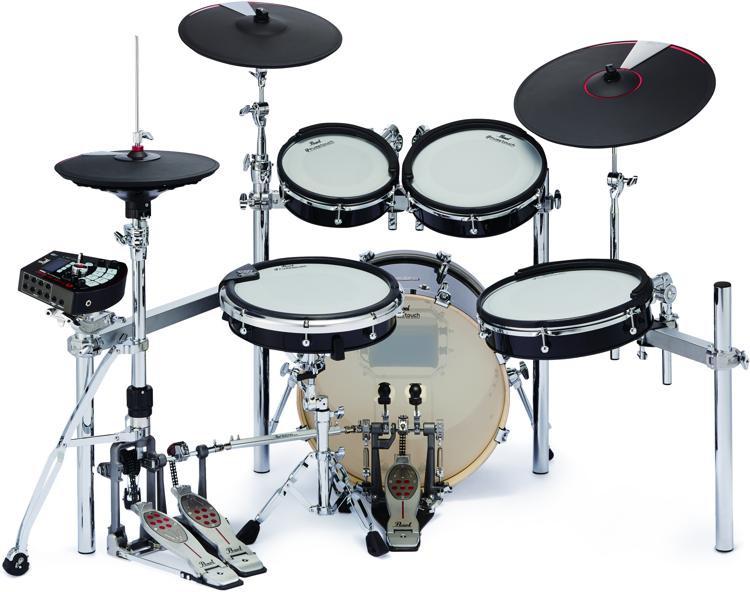 Pearl e Merge e Hybrid Electronic Drum Set image 1 d69642671081