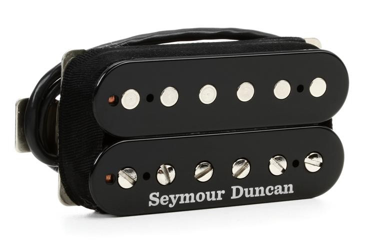 seymour duncan sh 6b duncan distortion humbucker pickup black sweetwater. Black Bedroom Furniture Sets. Home Design Ideas