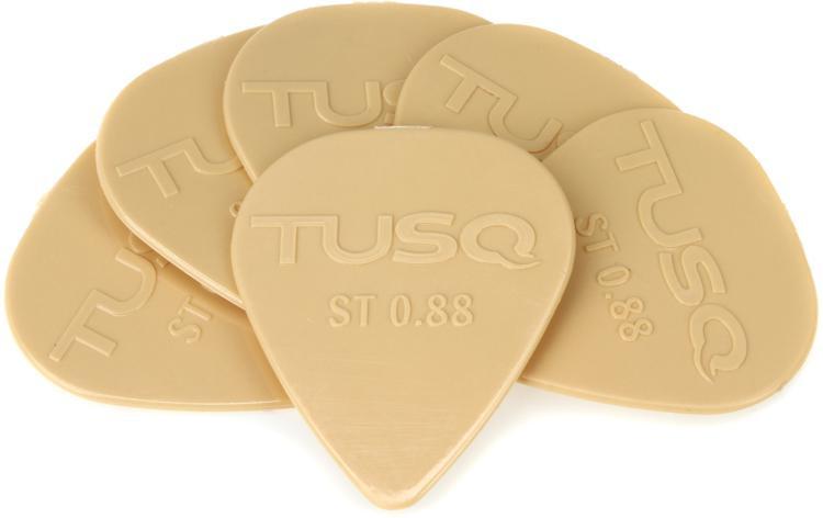 Graph Tech Tusq Standard .88mm Pick - Warm 6-Pack image 1