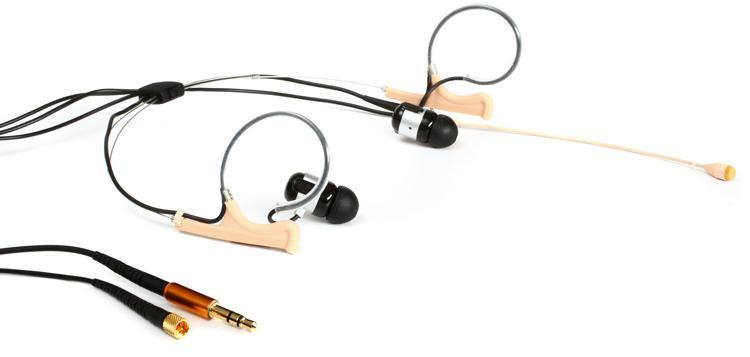 DPA d:fine 66 In-Ear Broadcast Headset Microphone - Dual-Ear, Dual In-Ear, Omni66, Beige image 1