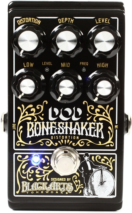 DOD Boneshaker distortion blowout sale, $40 with free ...