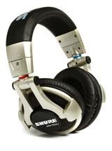 Shure SRH750DJ High Impedance Pro DJ Headphones