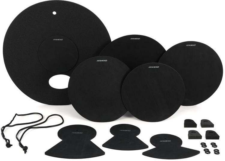 Ahead 8-piece Drum Silencer Practice Mutes - Standard Set image 1