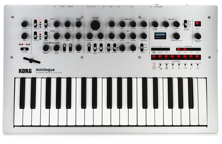 Korg minilogue 4-voice Analog Synthesizer image 1