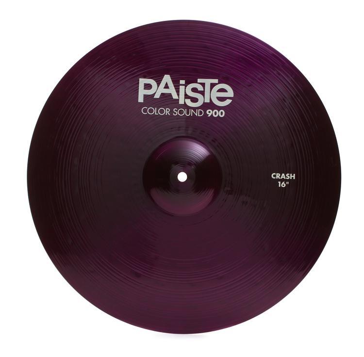 paiste 16 color sound 900 purple crash cymbal sweetwater. Black Bedroom Furniture Sets. Home Design Ideas