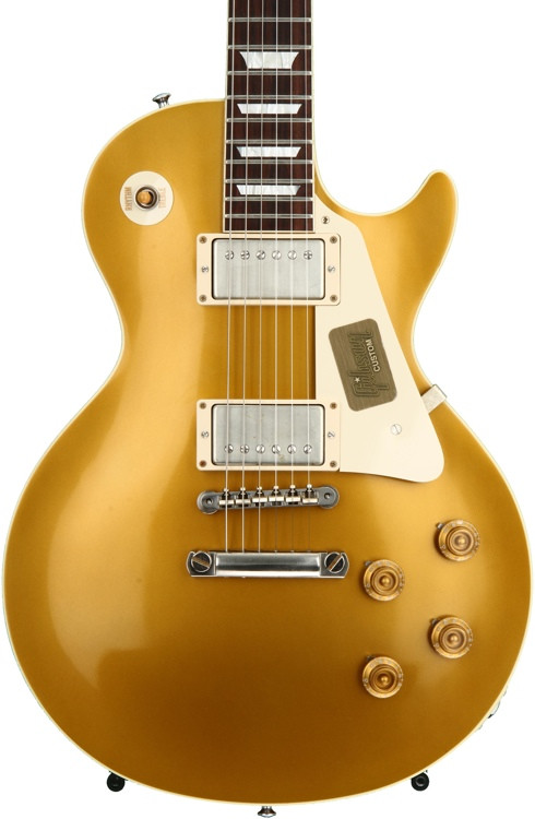 Gibson Custom Standard Historic 1957 Goldtop Les Paul - Antique Gold VOS image 1