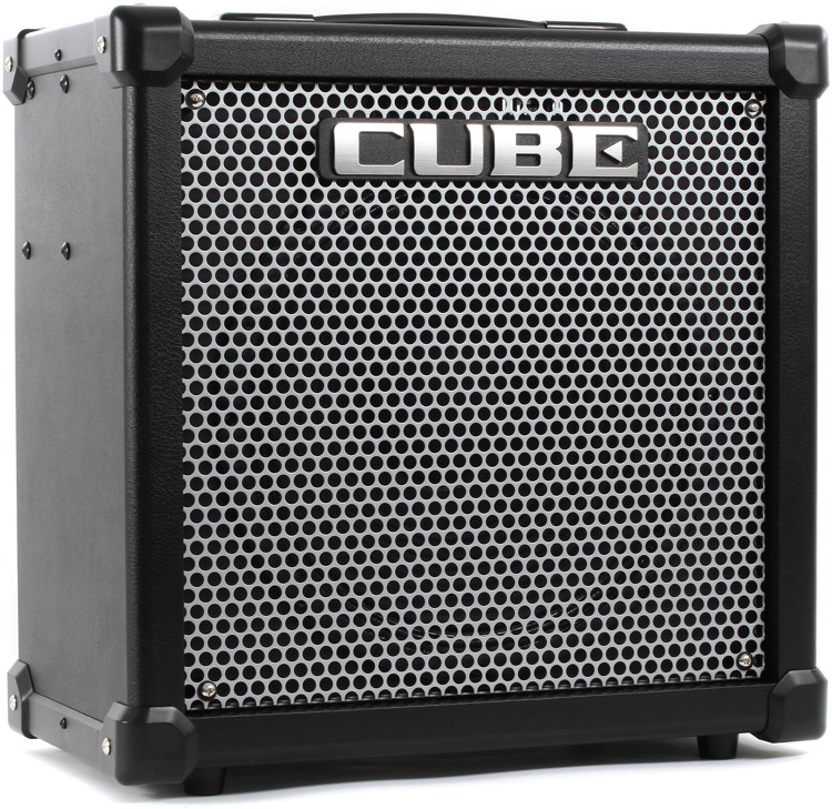 roland cube 80gx 80w 1x12 guitar combo amp sweetwater. Black Bedroom Furniture Sets. Home Design Ideas