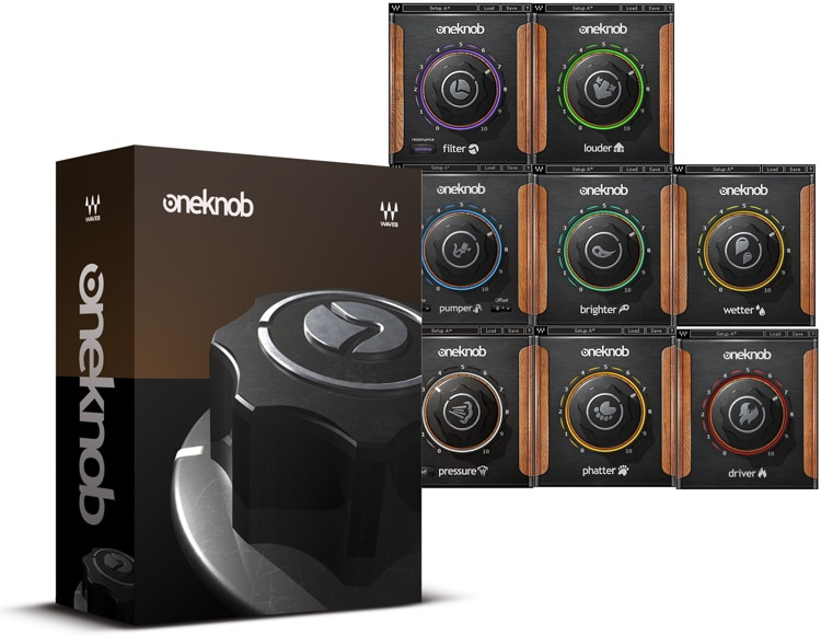 Waves OneKnob Series Plug-in Bundle image 1
