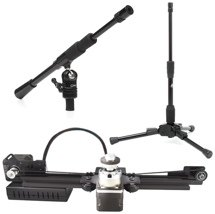 DynaMount V1-R + Triad-Orbit T1 Package - Mic Positioner, Mic Stand, and Boom