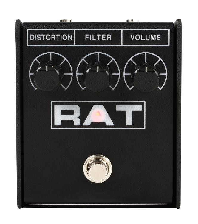 pro co rat 2 distortion fuzz overdrive pedal sweetwater. Black Bedroom Furniture Sets. Home Design Ideas