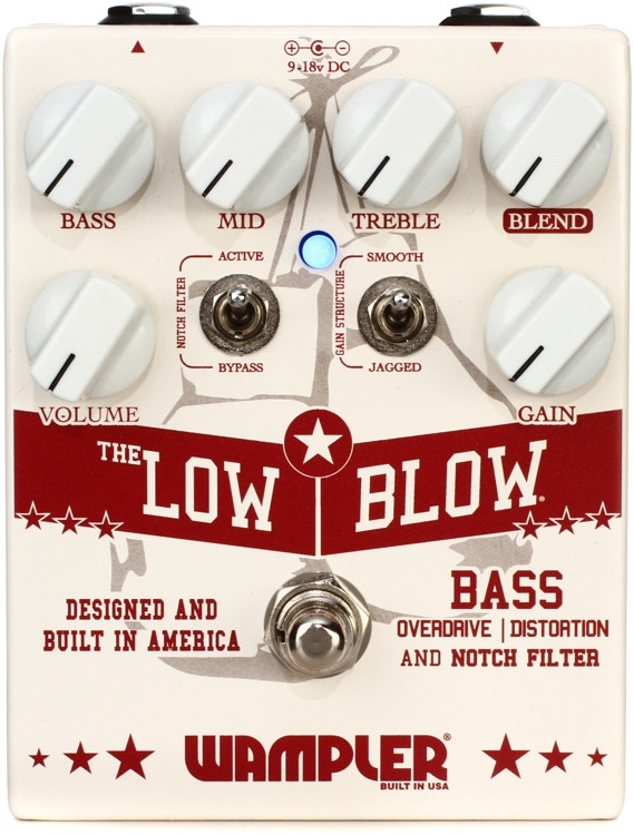 Wampler Low Blow Bass Overdrive Pedal image 1