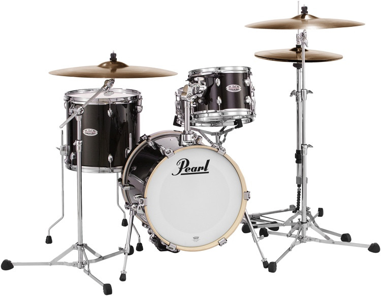 Pearl Midtown Series Shell Pack - 4-pc - Black Gold Sparkle image 1