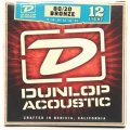 Dunlop DAB1254 80/20 Bronze Light Acoustic Strings