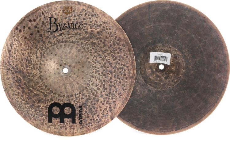 Meinl Cymbals Byzance Dark Hi Hats - 14