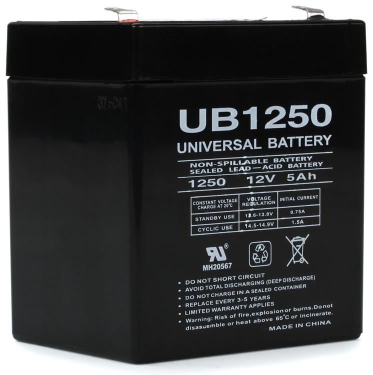 MIPRO MB-70 Replacement Rechargeable 12V Battery image 1
