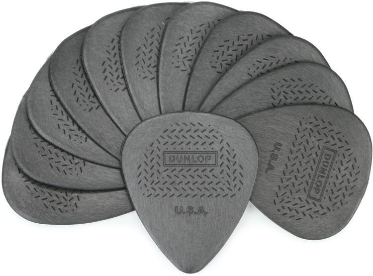 Dunlop 449P.73 Nylon Max-Grip Standard .73mm Guitar Picks 12-Pack image 1