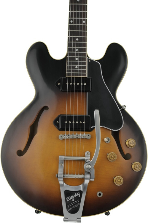 Gibson Memphis 1961 ES-330TD Figured VOS - Vintage Sunburst image 1