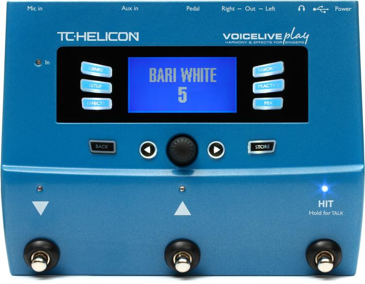 tc helicon voicelive play vocal harmony and effects sweetwater. Black Bedroom Furniture Sets. Home Design Ideas