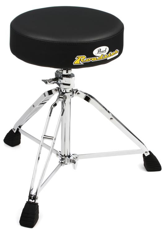 Pearl Roadster Series Drum Throne - Standard Height image 1