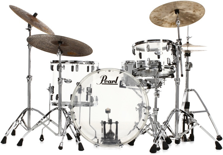 Pearl Crystal Beat Shell Pack 3-pc - Ultra Clear image 1