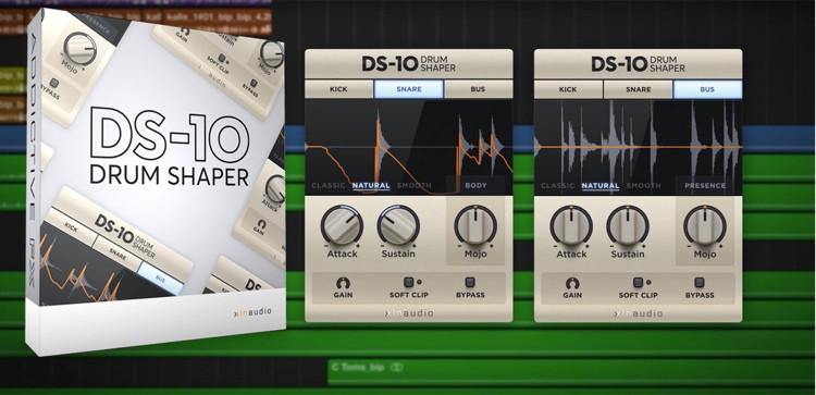 XLN Audio DS-10 Drum Shaper image 1
