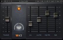 Waves W43 Noise Reduction Plug-in