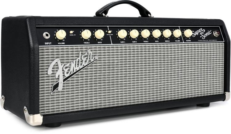 fender super sonic 22 22 watt tube head black sweetwater. Black Bedroom Furniture Sets. Home Design Ideas