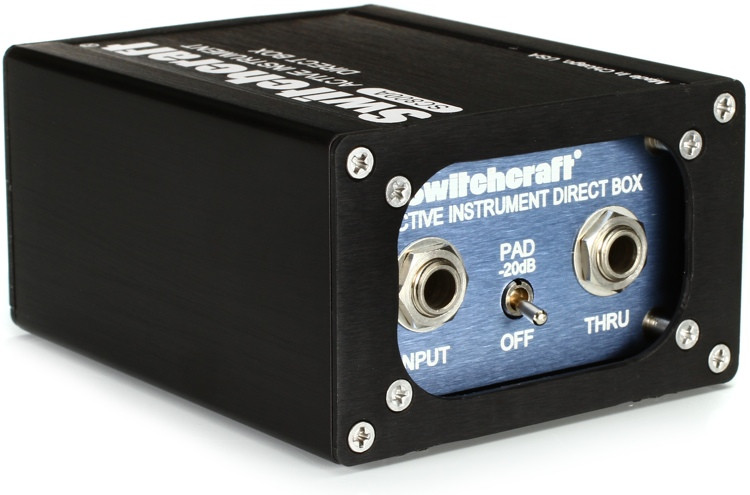 Switchcraft SC800A 1-channel Active Instrument Direct Box image 1