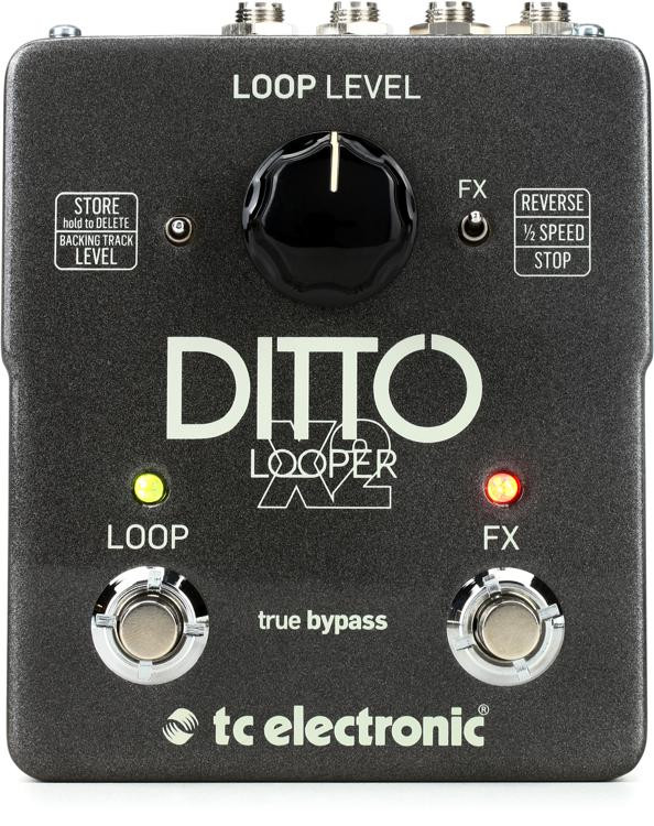 TC Electronic Ditto X2 Looper Pedal image 1
