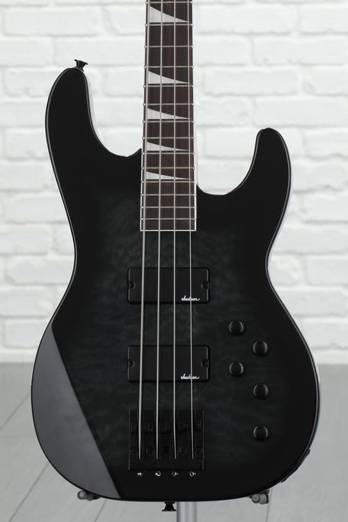 Jackson JS3Q Concert Bass - Transparent Black