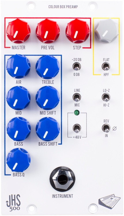 JHS Colour Box 500 Microphone Preamp & EQ image 1