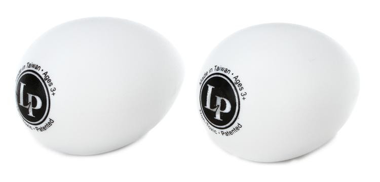 Latin Percussion LP004-GLO Glow in the Dark Egg Shakers (pair) image 1