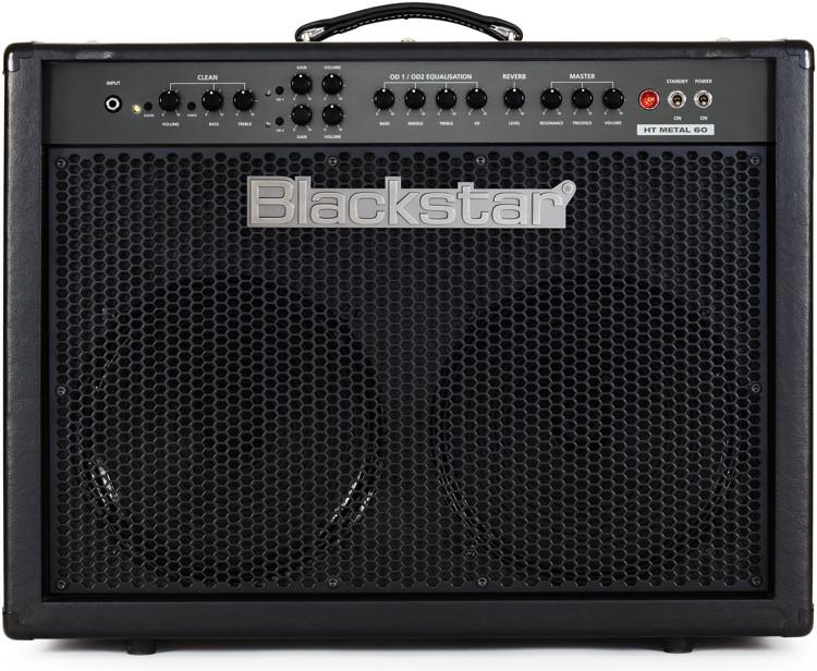 blackstar ht metal 60c 60w 2x12 guitar combo amp sweetwater. Black Bedroom Furniture Sets. Home Design Ideas