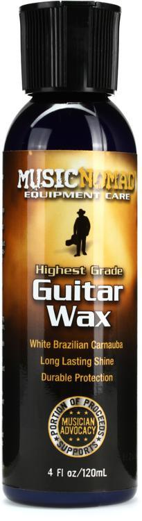 MusicNomad Guitar Wax - Highest Grade White Brazilian Carnuba image 1