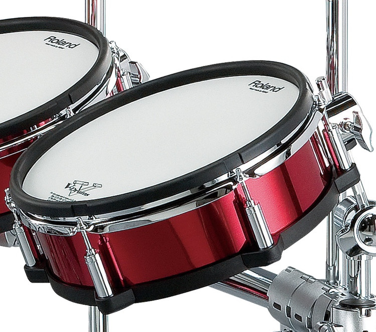 Roland V-Drums Shell Wrap Package - 6-piece - Red image 1