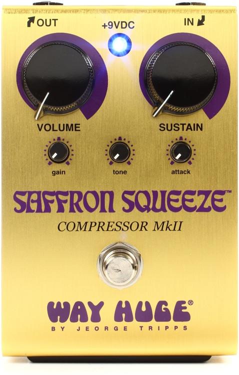 Way Huge Saffron Squeeze Compressor Pedal image 1