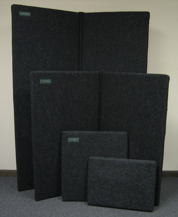 ClearSonic S4-2D, Dark Gray SORBER (2) Panels - 44