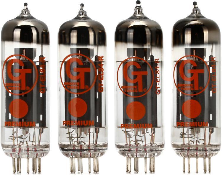 Groove Tubes GT-EL84R Russian Power Tube - Medium Quartet image 1