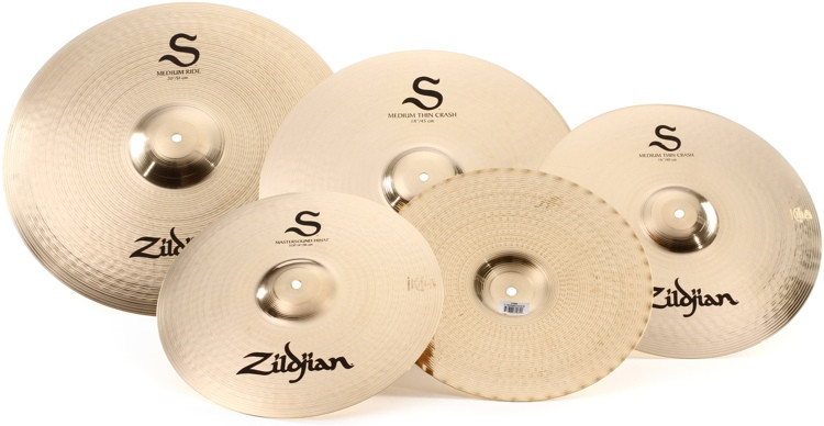 Zildjian S Series Performer 4-piece Cymbal Set image 1