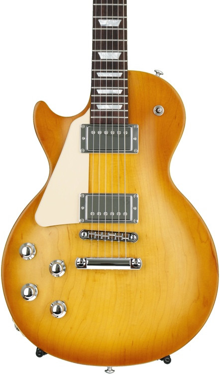 gibson les paul tribute 2017 hp left handed faded honey burst with gig bag sweetwater. Black Bedroom Furniture Sets. Home Design Ideas