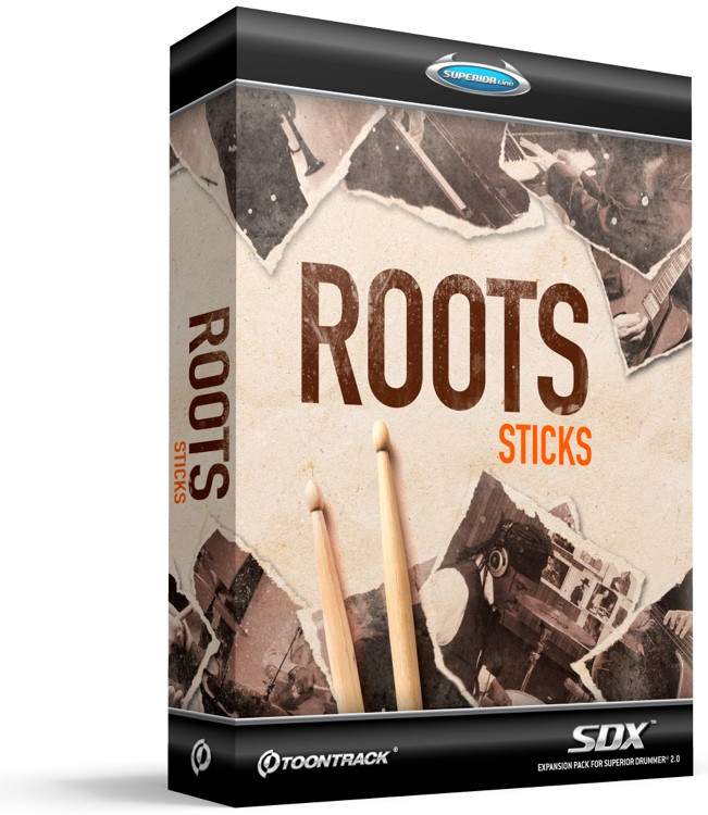Toontrack Roots SDX - Sticks (Boxed) image 1