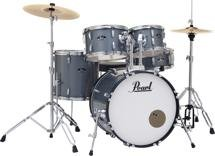 Pearl Roadshow 5-piece Complete Drum Set with Cymbals - 20