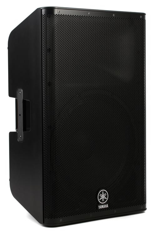 Yamaha dxr15 1100w 15 powered speaker sweetwater for Yamaha 15 speakers