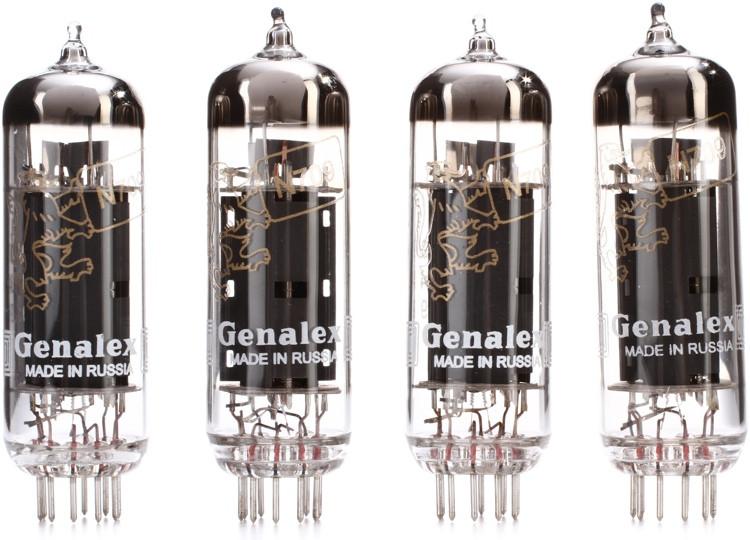 Genalex Gold Lion EL84 Power Tubes - Matched Quartet image 1
