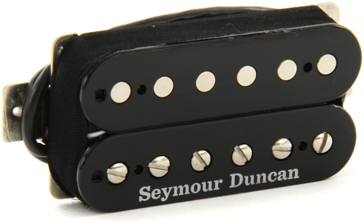 Seymour Duncan SH-18 Whole Lotta Humbucker Pickup - Black Neck image 1