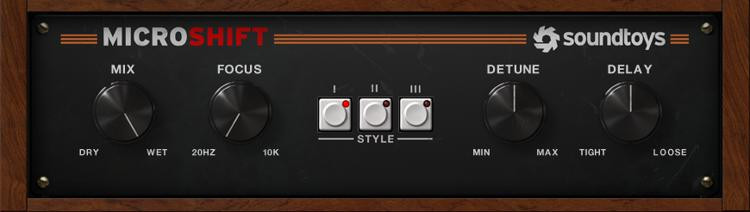 Soundtoys MicroShift Plug-in image 1