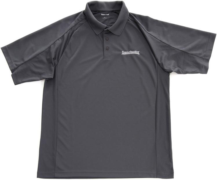 Sweetwater Sport Mesh Polo Shirt - Steel, Medium image 1