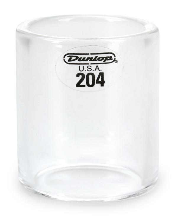 Dunlop 204 Pyrex Glass Slide - Regular Wall Thickness - Medium Knuckle image 1