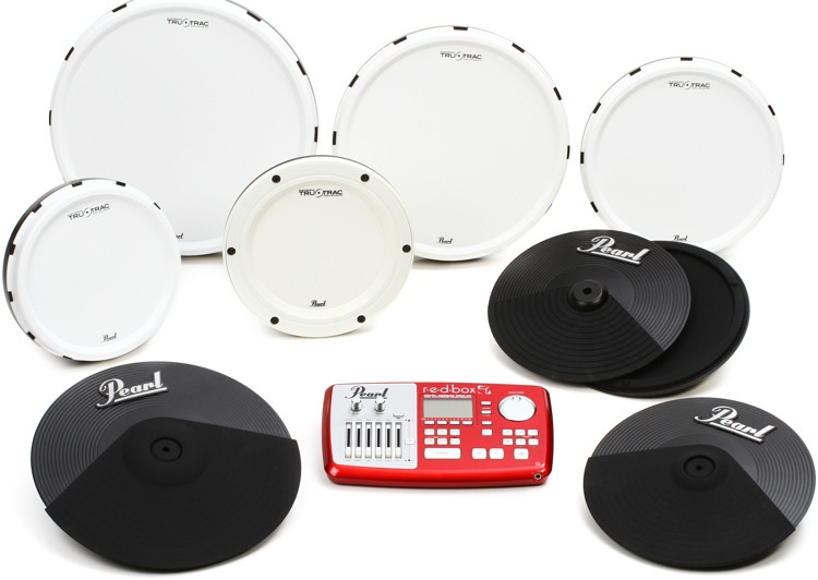 Pearl Tru-Trac Electronic Drum Set Conversion Pack - 12